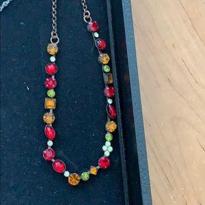 Cookie Lee Genuine Austrian Crystal Necklace